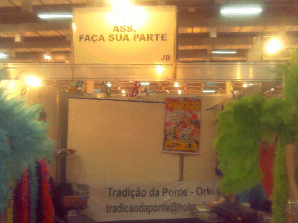 ONG BRASIL - 2010 - CULTURA E ARTE - ESCOLA DE SAMBA - GRECES TRADIÇÃO DA PONTE